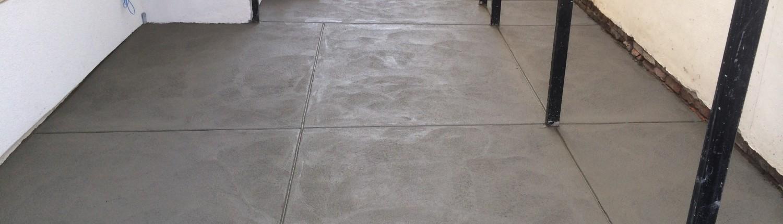 Finished Concrete Patio in Philadelphia