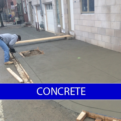 Philadelphia concrete contractor m c contractors for Concrete home contractors