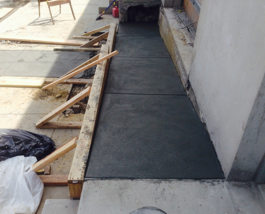 Concrete wheelchair ramp Philadelphia