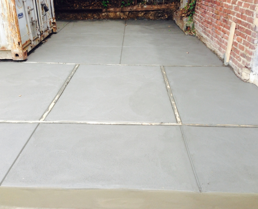 Custom Concrete Patio in Philadelphia