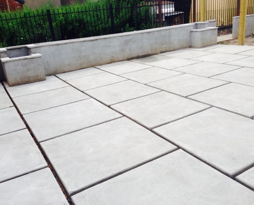 Philadelphia Custom Concrete Patio