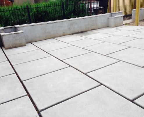 Philadelphia Custom Concrete Patio