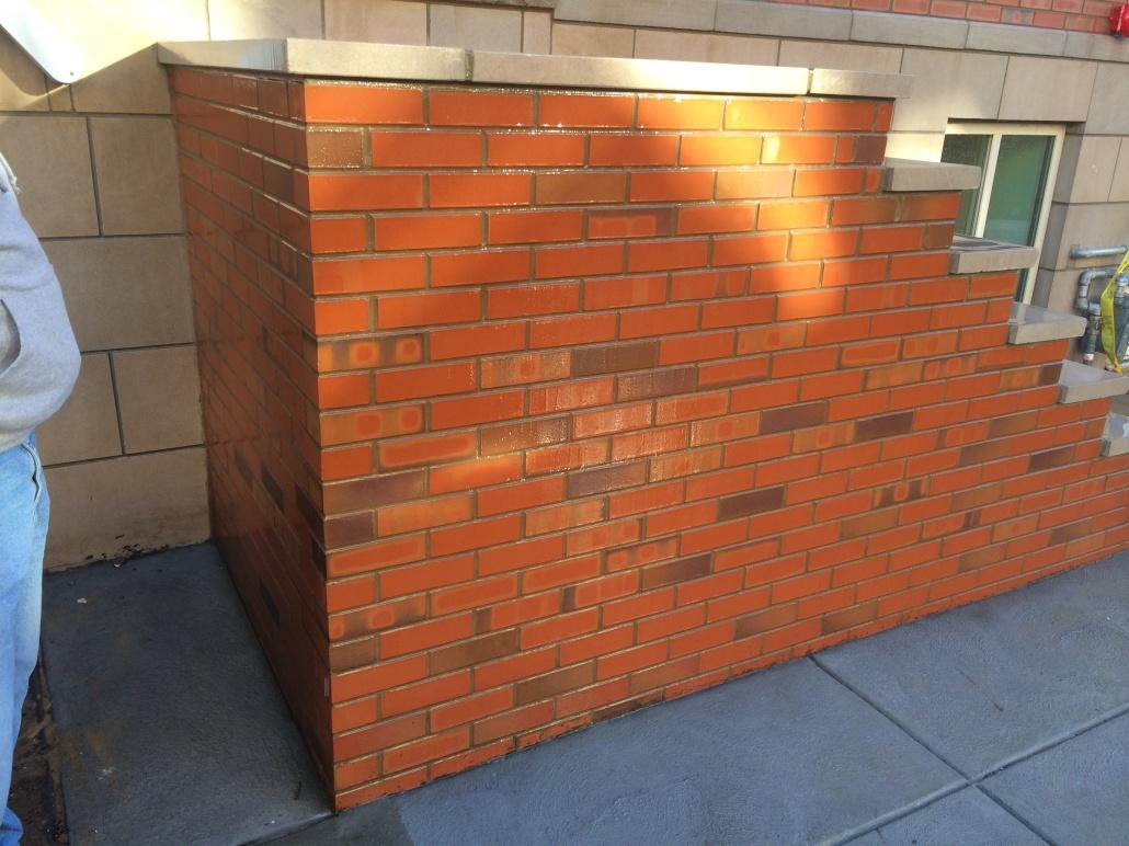 Custom brick steps