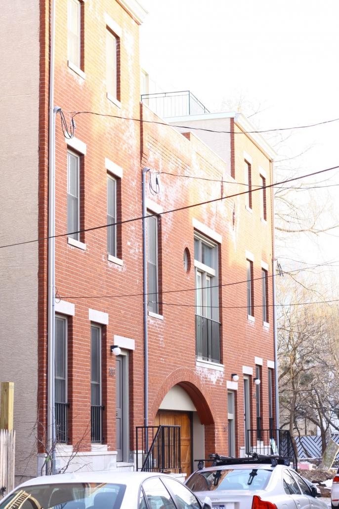 Custom brick work in Philadelphia