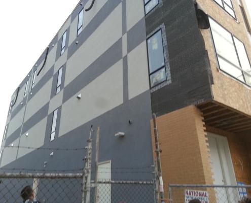 Philadelphia stucco