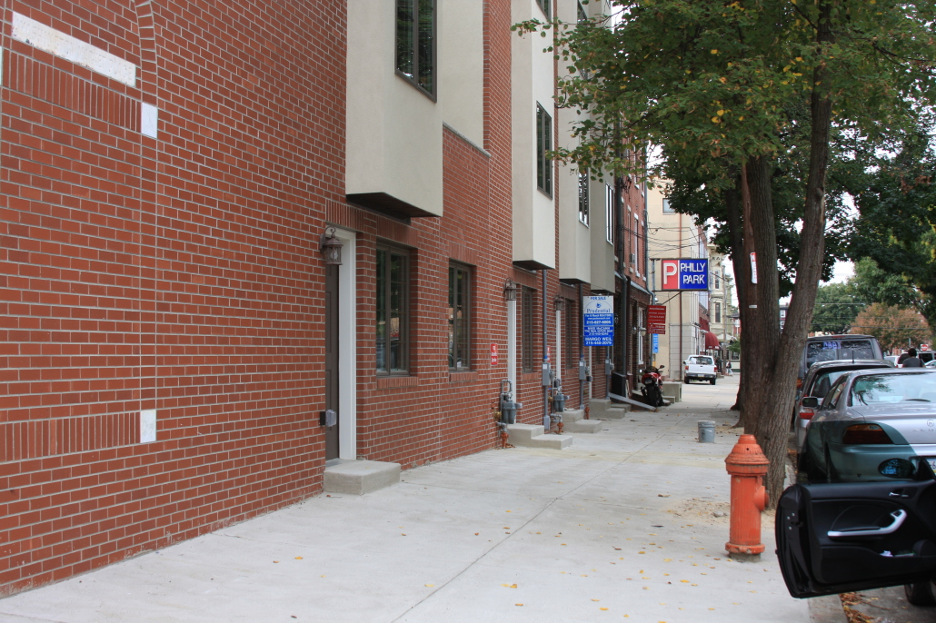 Brick and stucco work in Philadelphia by M and C Contractors